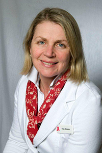 Carola Aßmann , Eigentümerin der Apotheke Alte Wache in Oldenburg