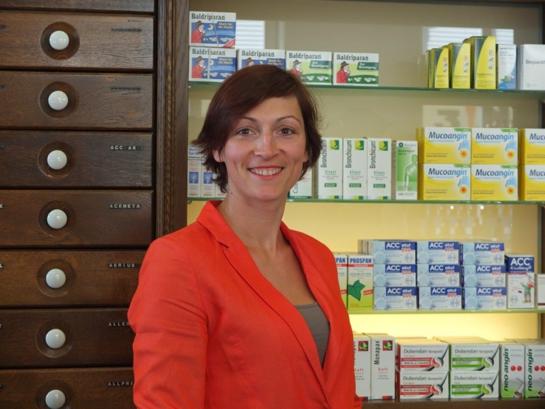 Luise Huy, Eigentümerin der Turm-Apotheke in Essen (Oldenburg)